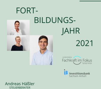 FORTBILDUNGSJAHR 2021